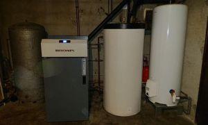 Installation d'une chaudière à granulés 30KW BRONPI Compacte