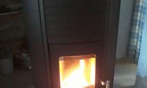 Pose d'un poêle à granulés sans électricité Koppe